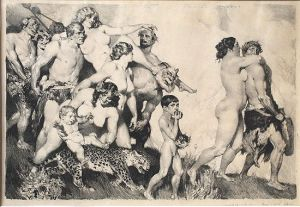 Norman Lindsay, The Procession